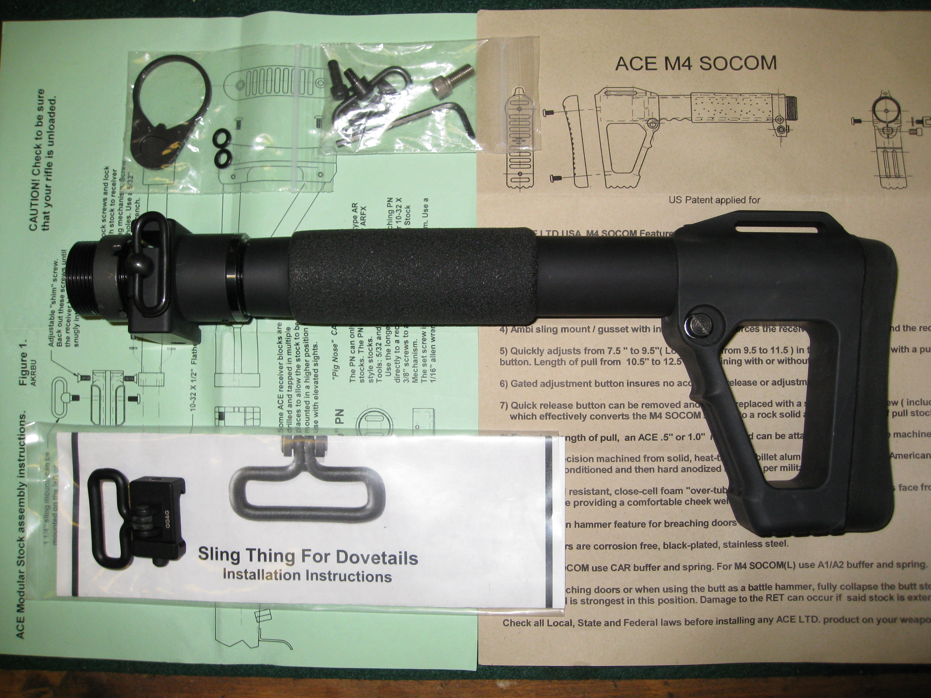 TRADED: M4 SOCOM folding stock + parts - The FAL Files
